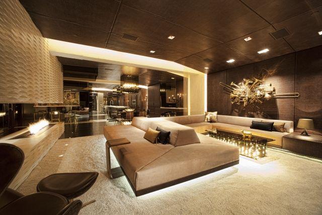 Wohnzimmereinrichtung Ideen U2013 Brauntöne Sind Modern #brauntone #ideen  #modern #wohnzimmereinrichtung