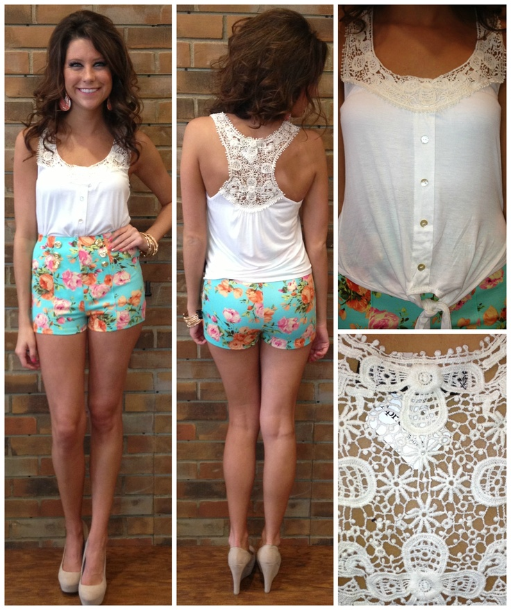love this outfit! perfect for spring..and could always look cute with some cowboy boots!