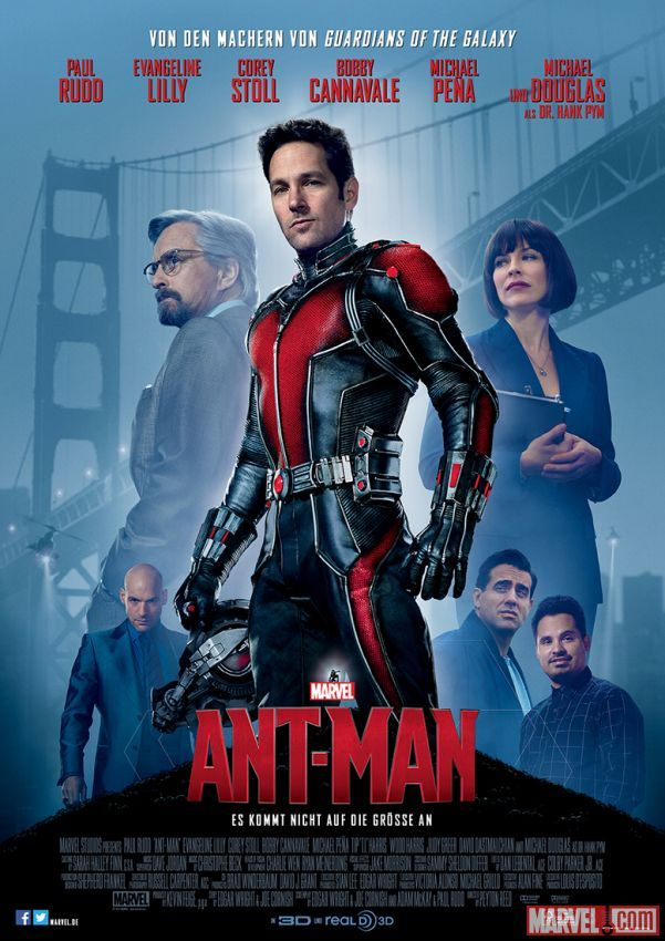 Ant-Man Posters Go International with Paul Rudd | Collider / Again, was a fun movie to see. It reminded me of when you were younger...when it was just the two of us eating popcorn, Nerds, red licorice and white soda.