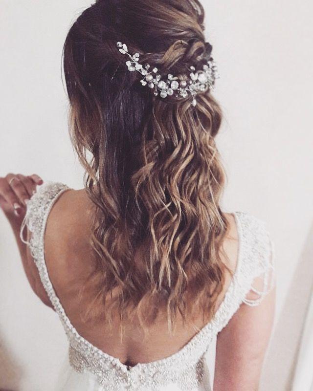 Bridal romantic Hair