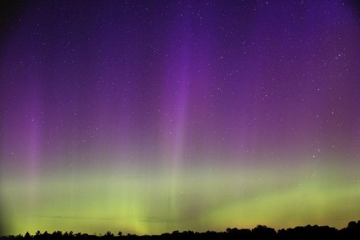 Northern Lights - Espanola. Ontario, Canada