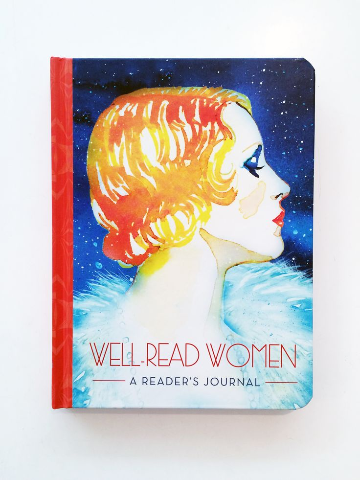 Well Read Women // A readers journal // Document and reminisce all your favourite books with this beautiful journal