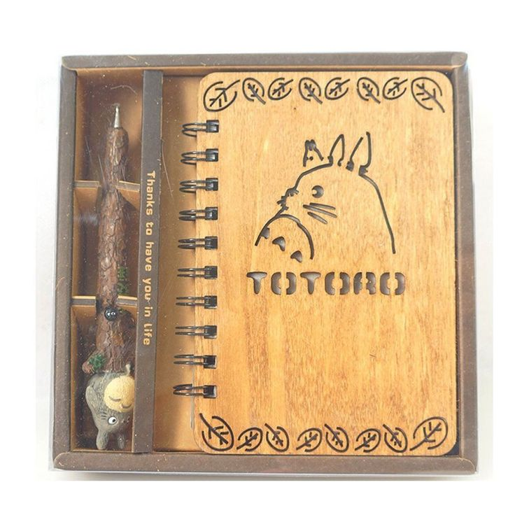 Mein Nachbar Totoro Notebook Anime Blank Tagebuch Journal als großes Geschenk in Büro & Schreibwaren, Schulbedarf, Tagebücher & Poesiealben | eBay