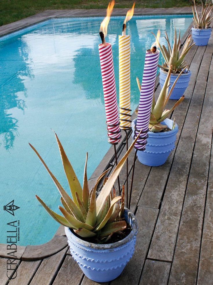 17 best images about candles for gardens on pinterest for Antorchas jardin