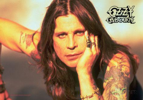 Ozzy Osbourne - Portrait Póster en tela