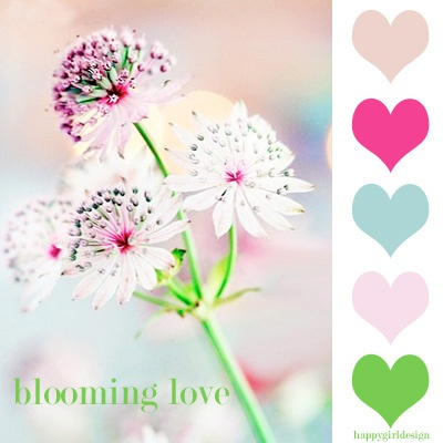 #color blooming love V