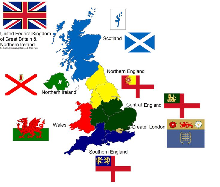 Europe Circled England Map