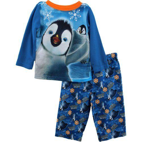 """Happy Feet Two """"Ice Patrol"""" Blue Pajamas 2T-4T (3T) Happy Feet Two http://www.amazon.com/dp/B00ARFPPP8/ref=cm_sw_r_pi_dp_B0N0tb0F53B5SXP5"""