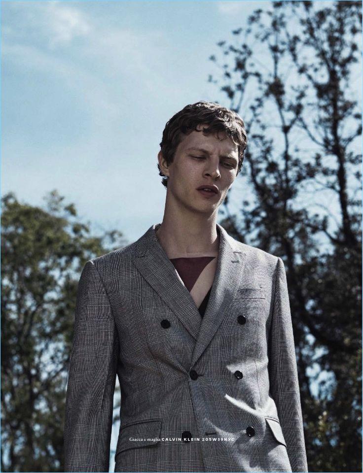 Tim Schuhmacher by Van Mossevelde + N for GQ Italia June 2017