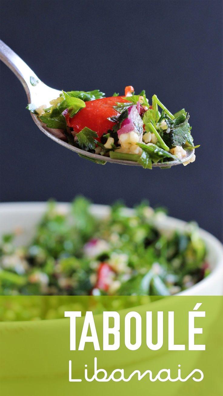 Taboulé Libanais (vegan) – Envie D'une Recette végétalienne?