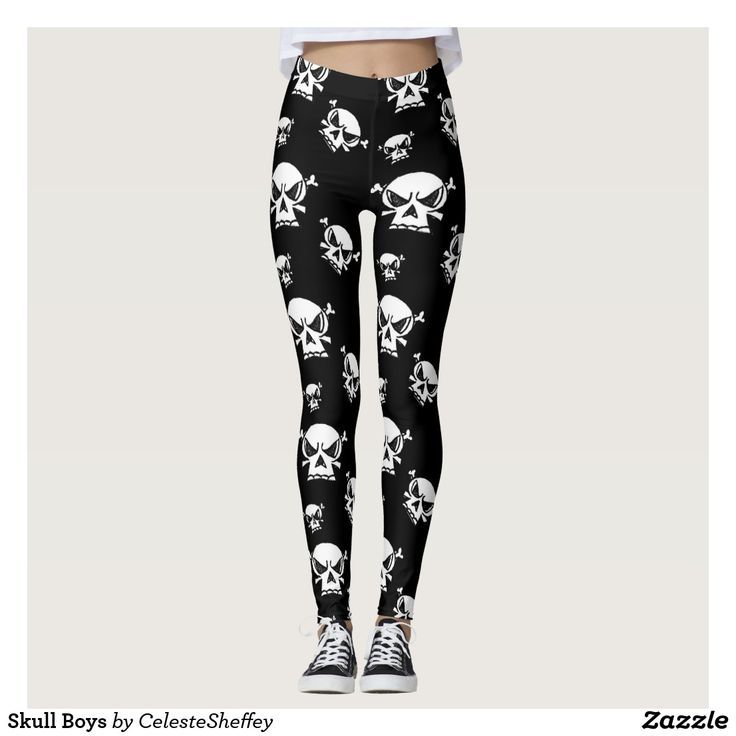 Skull Boys Leggings matching hoodie sold in my other store