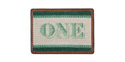 One Dollar Bill Needlepoint Card Wallet