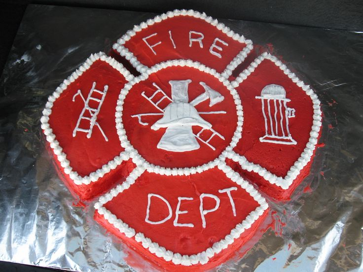 40th Birthday for firefighter — Military / Police / Fire Dept.