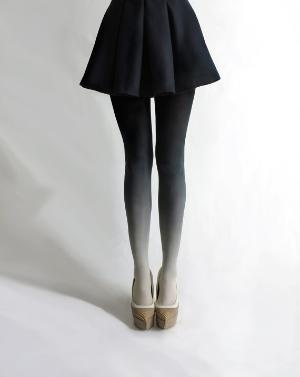 ombre tights: Ombretights, Fashion, Style, Clothing, Clothes, Ombré Tights, Ombre Tights, Things, I D Wear