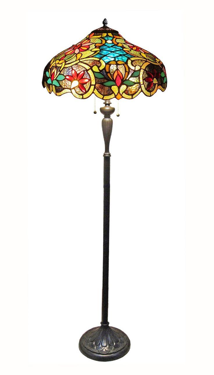 Best 25 victorian floor lamps ideas on pinterest beaded tassel leslie tiffany style victorian floor lamp httpamazon geotapseo Image collections