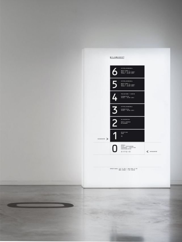 Genial el diseño de identidad de Bild museet por SDL. SDL