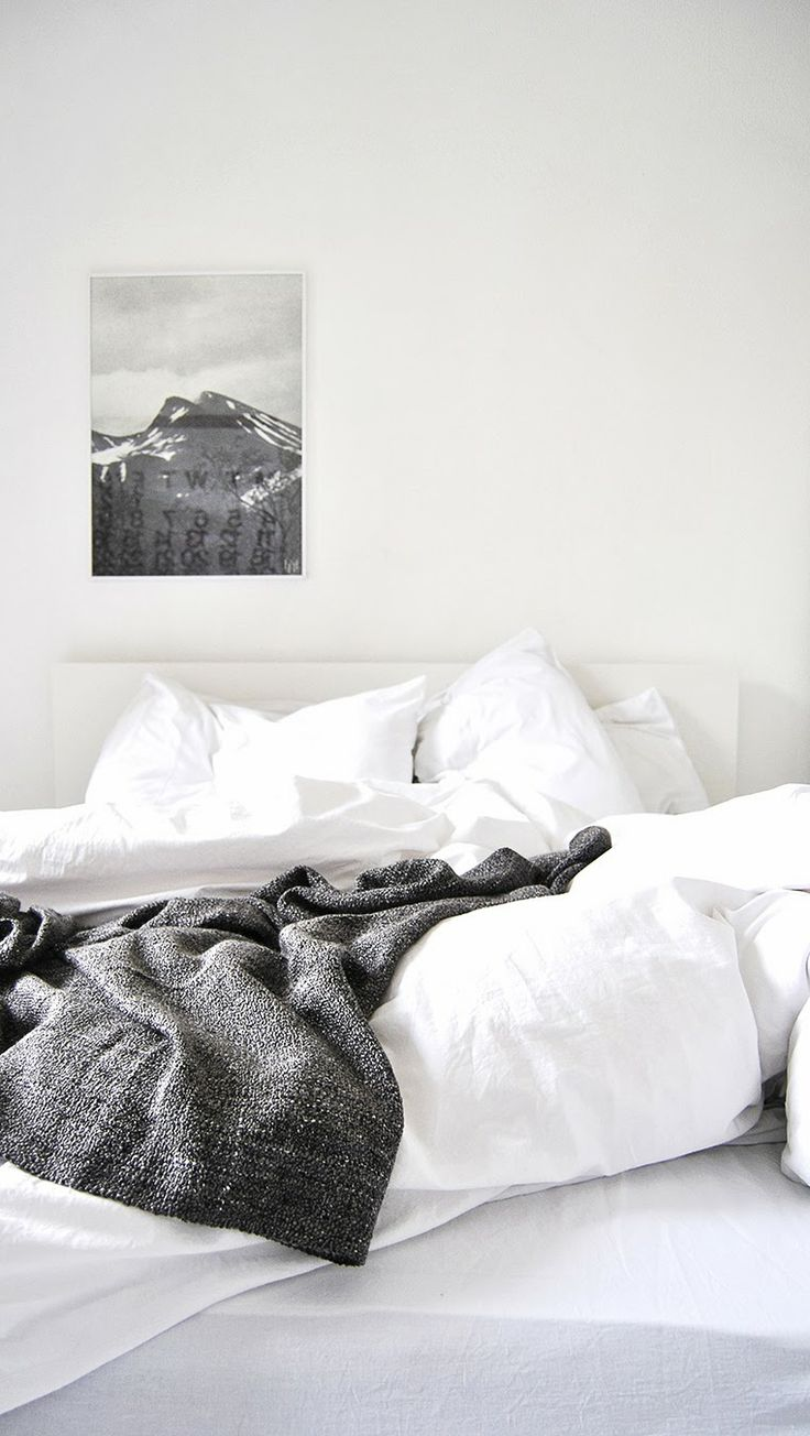 Black and white bed sheets tumblr - White Bedrooms Ollie Sebs Haus