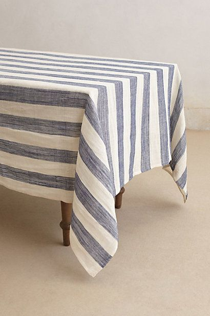 Sea Stripes Tablecloth from Anthropologie