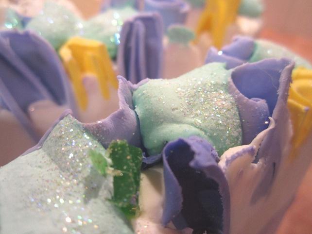 Indigo Garden -  Artisan Luxury Cold Process Soap £3.50