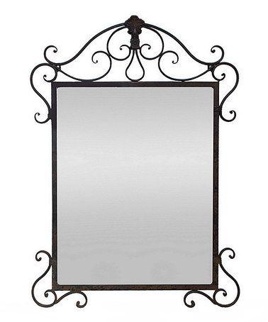 Look what I found on #zulily! Ornate Metal Mirror #zulilyfinds