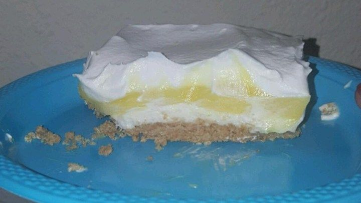 A family friend shared this lemon and cream cheese dessert with me. It has been a hit with our family now for all our get togethers.