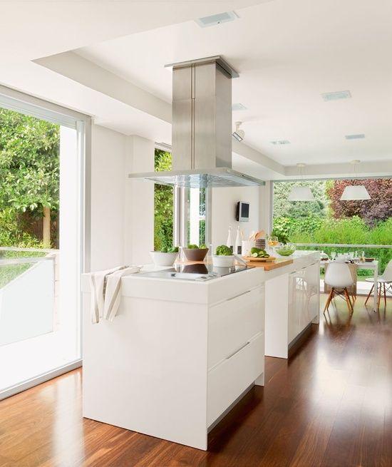 Interiors | Design | White Kitchen