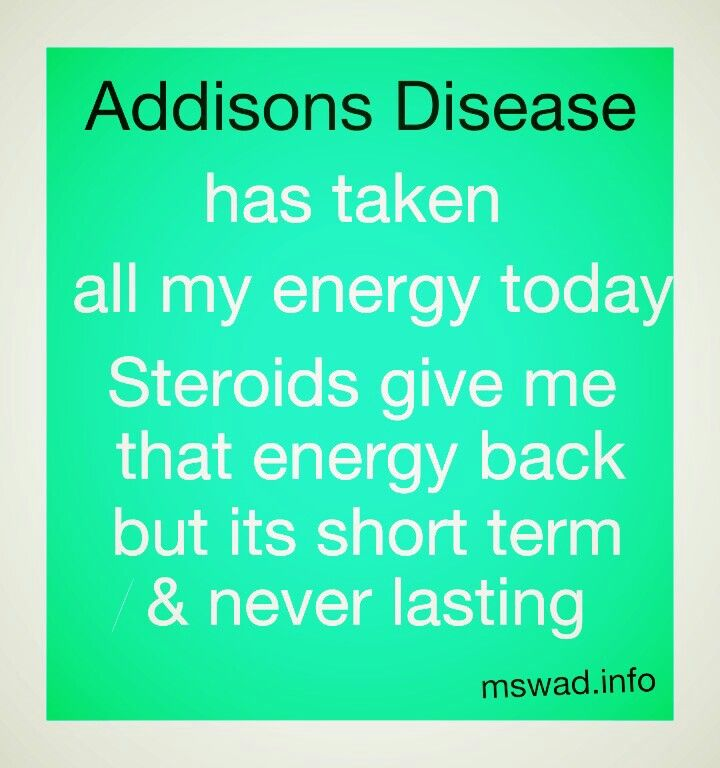 ADDISONS DISEASE AWARENESS
