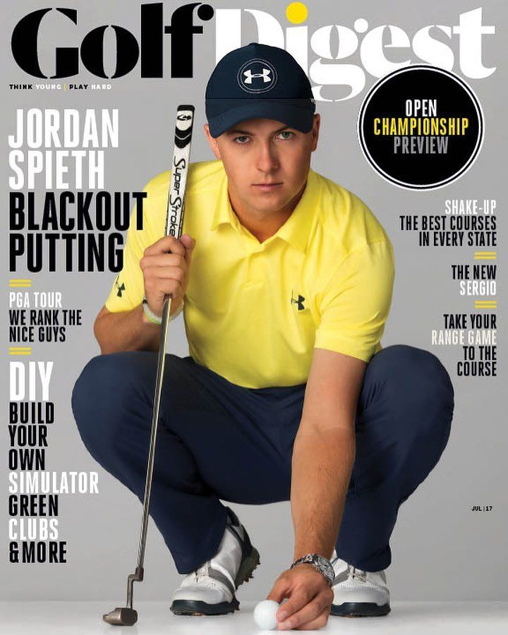 Jordan Spieth On The July 2017 Cover - Golf Digest.