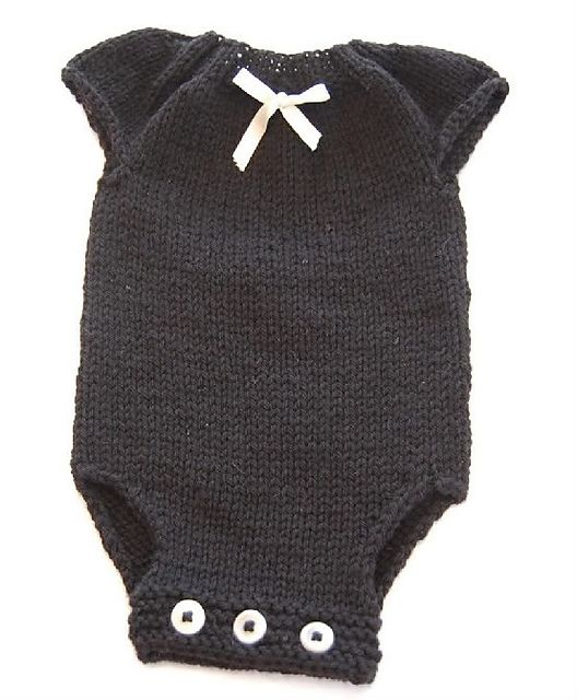 Knit Baby Onesie. Pattern on Ravelry: http://www.ravelry.com/patterns/library/eloise-onesie