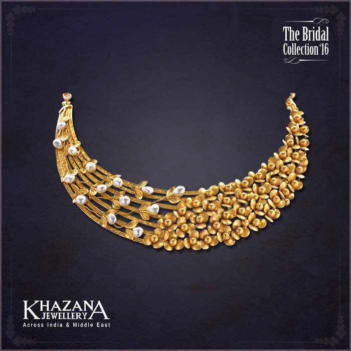 Embedded Gold Necklace Designs Antique Gold Jewelry Indian Bridal Gold Jewellery Designs