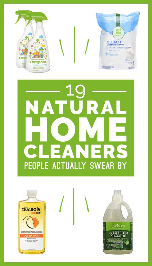All of the cleaning power with none of the scary ingredients!