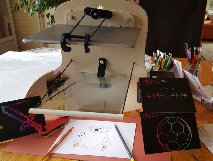 Quelques réalisations de Clémentine, 11 ans, béta testeuse sur QroKee Gratter ou crayonner c'est vous qui choisissez!