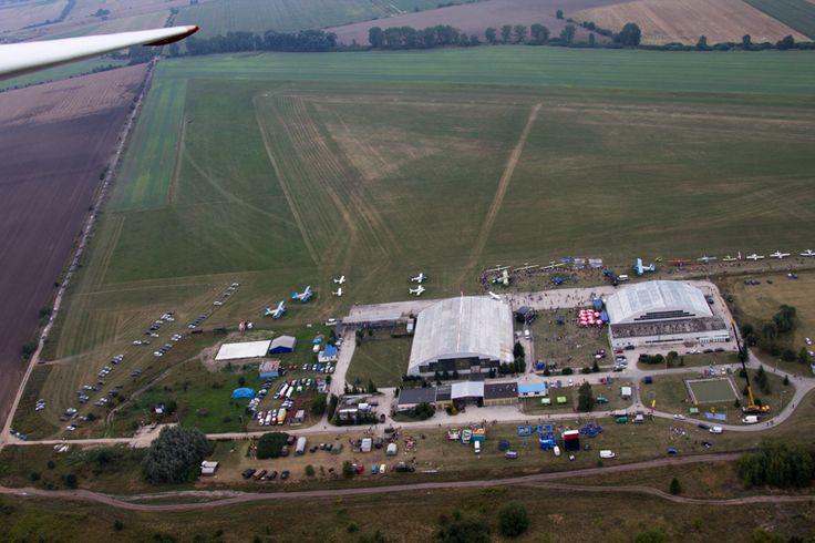 Lotnisko - teren Aeroklubu Wrocławskiego