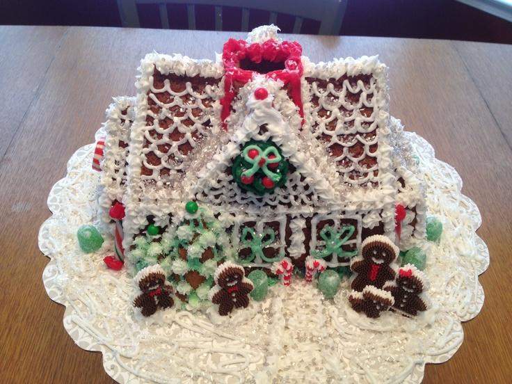 Nordic Ware Gingerbread House Bundt Cake Recipe