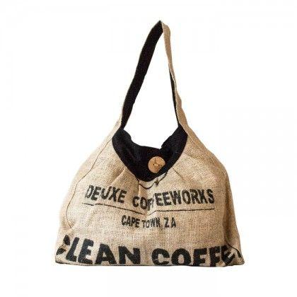 Organic Coffee Shoulder Bag Wren