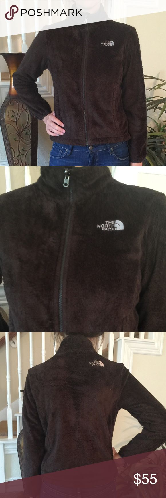 North Face Re-tooled Brown jacket This North Jacket is adorable and perfect for those fall football games! It features an drawstring waist, soft retooled fabric, zipper front pockets and in great condition. North Face Jackets & Coats