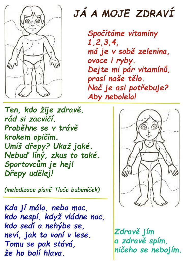 Texty písní a básniček | ZŠ Žalany