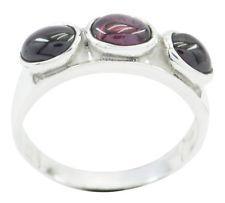 Garnet 925 Sterling Silver Ring pulchritudinous Red gemstones AU gift