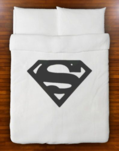Superman Duvet Cover Set Bedding  Queen Full by SHOWERCURTAINS, $139.95