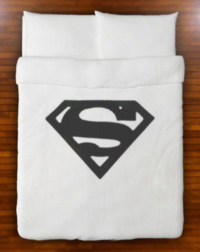 Superman Duvet Cover Set Bedding  Queen Full by SHOWERCURTAINS, $139.95