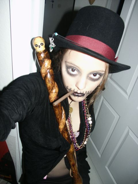 Tattoo Doll Voodoo Witch Doctor