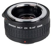 Bower - 2x Dgii Autofocus Teleconverter for Select Nikon Dslr Cameras