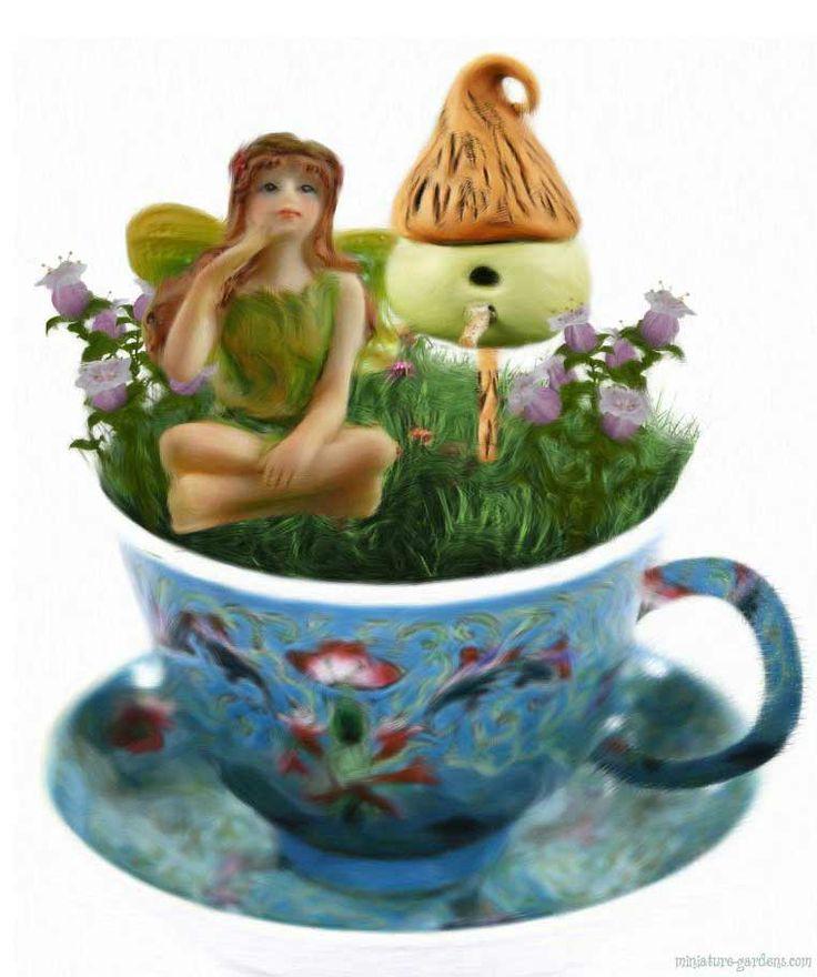 17 Best images about Tea & Fairies on Pinterest | Gardens ...
