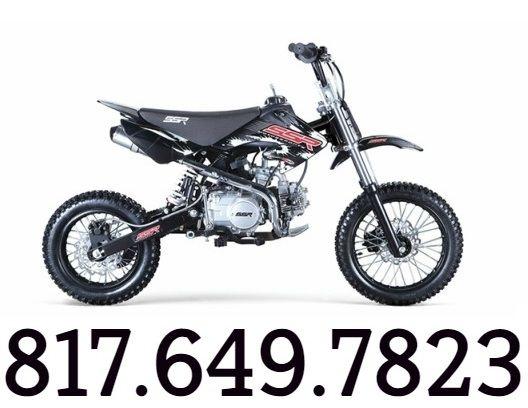 SSR SR125 125CC PIT BIKE FREE SHIPPING Sale Price: $819.00