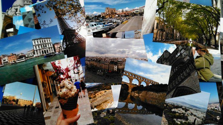 Make a travel scrapbook