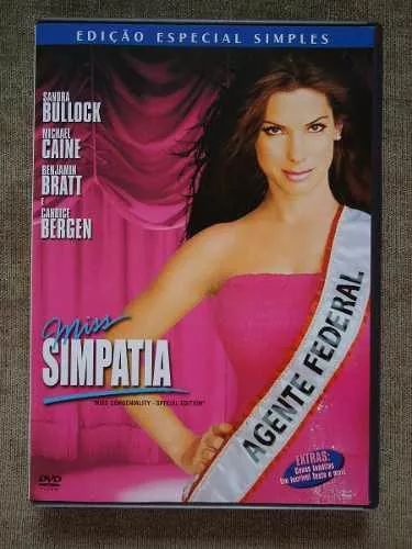 miss simpatia - filme comédia - sandra bullock - dvd