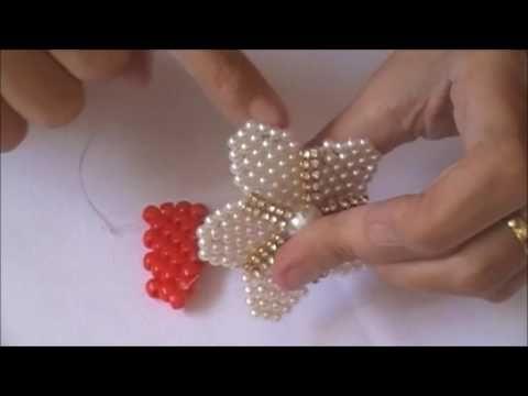 DIY-FLOR VALENTINA DE MIÇANGUINHAS by MAGNANY SENA! - YouTube