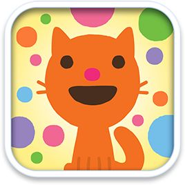 Sago Sago - Apps for Toddlers and Preschoolers. Music box, a simple and fun music making app where you choose your sound theme, then shoot coloured balls around a page to make music and mayhem.