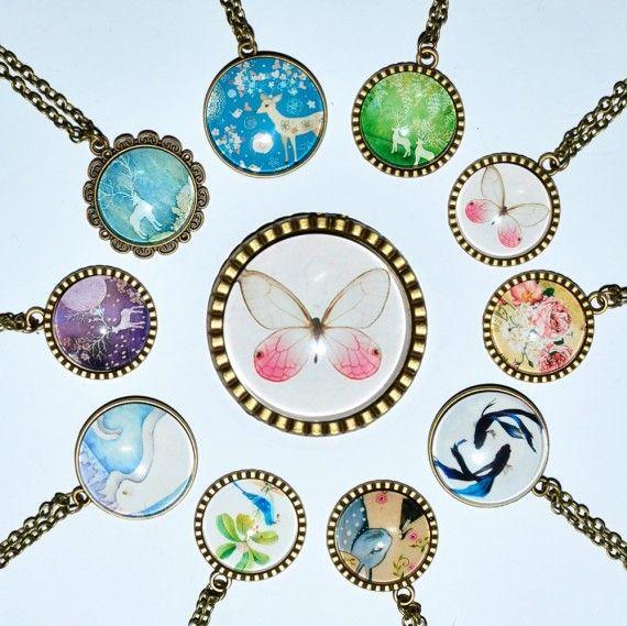 Vintage Smykker Nydelig, romantisk og gammeldags smykke:)  www.bitteba.com