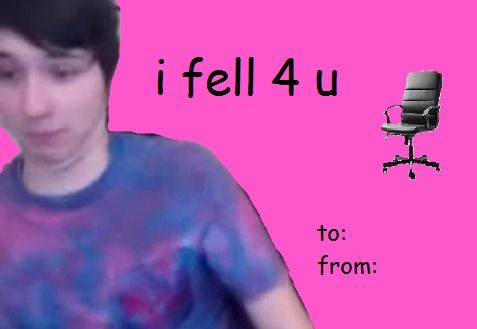phandom valentines day card dan and phil Pinterest – Youtube Valentines Day Cards